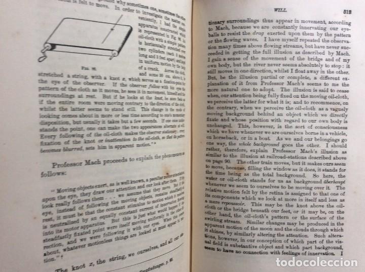Libros antiguos: The Principles of Psychology. William James, 1918. Ilustrado. En inglés. Muy raro. Salida a 1 € - Foto 16 - 286722628