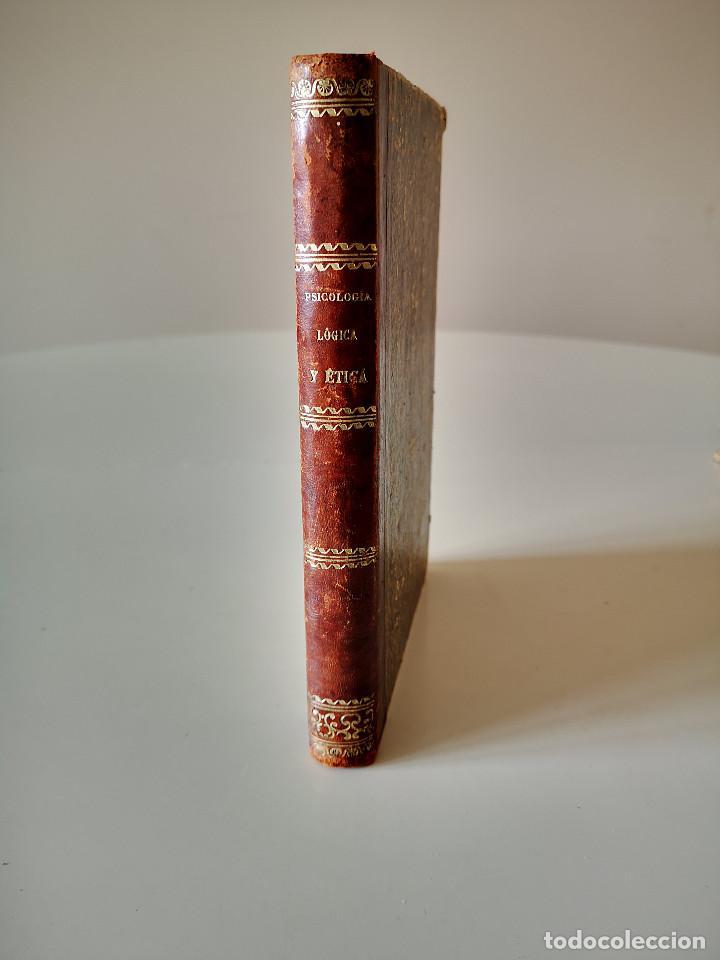 1869 ENCHIRIDION DE PSICOLOGIA LOGICA Y ETICA BUEN ESTADO EN GENERAL MANUAL LIBRO (Libros Antiguos, Raros y Curiosos - Pensamiento - Psicología)