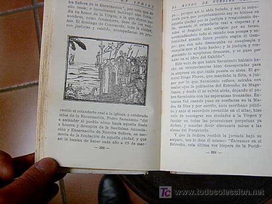 Libros antiguos: SANTA MARIA EN INDIAS - ADVOCACIONES RELIGIOSAS DESCUBRIMIENTOS EN AMERICA - Foto 3 - 3831794