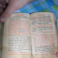 Libros antiguos: OFICIO DE SEMANA SANTA 11CM. Lote 26097078
