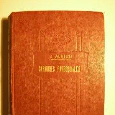 Libros antiguos: SERMONES PARROQUIALES. Lote 15620019