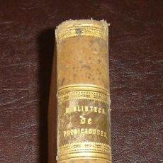 Libros antiguos: BIBLIOTECA DE PREDICADORES-CONF.CATEQUISTICAS-PEDRO Mª TORRECILLA-PARIS 1857-TOMO 4. Lote 7017199