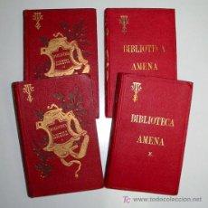Libros antiguos: BIBLIOTECA AMENA, CONFERENCIAS FAMILIARES, POR EL P. VICTOR VAN TRICHT. 13 PRIMEROS VOLS.. Lote 7308600