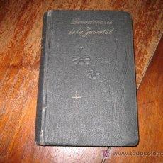 Libros antiguos: DEVOCIONARIO DE LA JUVENTUD. Lote 13800479