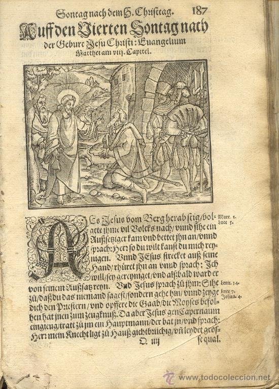 Libro muy antiguo siglo xvii en alem n precio comprar - Libros antiguos valor ...