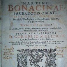 Libros antiguos: MARTINI BONACINAE - AÑO 1627. Lote 32870609