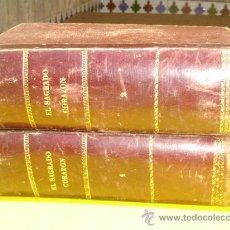 Libros antiguos: 2 TOMOS EL SAGRADO CORAZON, J.CONDE SALAZAR Y SOULERET. Lote 8886429