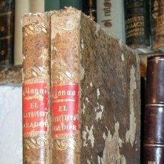 Libros antiguos: EL CATEQUISTA ORADOR O EL CATECISMO ROMANO.JUAN PLANAS.2 TOMOS.BARCELONA 1889.. Lote 25193698