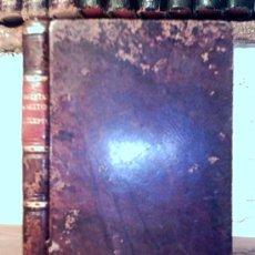 Libros antiguos: DISSERTATIO IN SEXTUM DECALOGI PRECEPTUM ET SUPPLEMENTUM AD TRACTATUM DE MATRIMONIO.BOUVIER.1855. Lote 25893602