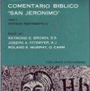 Libros antiguos: COMENTARIO BÍBLICO SAN JERÓNIMO. TOMOS I, II, III, IV Y V. OBRA COMPLETA.. Lote 27274298