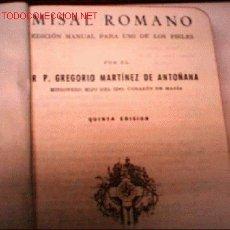 Alte Bücher - MISAL ROMANO - 1831869