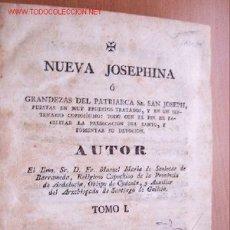 Libros antiguos: (L-45) NUEVA JOSEPHINA - TOMO I - AÑO 1830. Lote 26614042