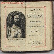 Libros antiguos: RAMILLETE DEL CRISTIANO. Lote 27179938