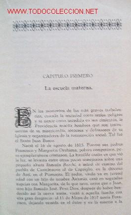 Libros antiguos: VIDA DEL BEATO JUAN BOSCO - año 1930 - Foto 3 - 26812514