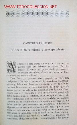 Libros antiguos: VIDA DEL BEATO JUAN BOSCO - año 1930 - Foto 7 - 26812514