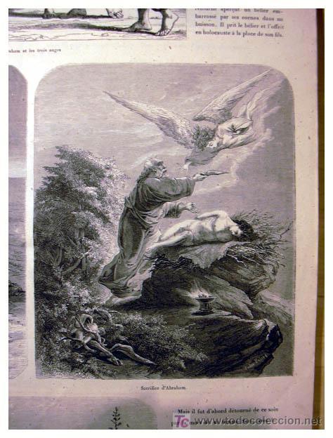 Libros antiguos: EL ANTIGUO Y NUEVO TESTAMENTO EN 100 CUADROS 1880 IMPRESIONANTES DIMENSIONES 52CM X 33CM - Foto 8 - 26947516