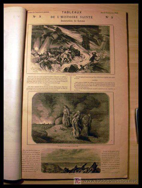 Libros antiguos: EL ANTIGUO Y NUEVO TESTAMENTO EN 100 CUADROS 1880 IMPRESIONANTES DIMENSIONES 52CM X 33CM - Foto 9 - 26947516
