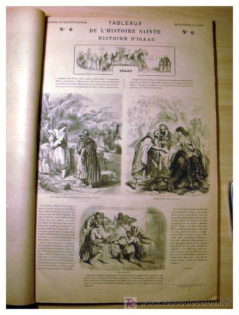 Libros antiguos: EL ANTIGUO Y NUEVO TESTAMENTO EN 100 CUADROS 1880 IMPRESIONANTES DIMENSIONES 52CM X 33CM - Foto 10 - 26947516