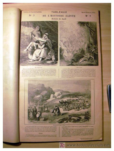 Libros antiguos: EL ANTIGUO Y NUEVO TESTAMENTO EN 100 CUADROS 1880 IMPRESIONANTES DIMENSIONES 52CM X 33CM - Foto 11 - 26947516