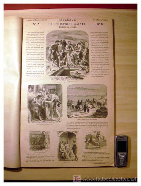 Libros antiguos: EL ANTIGUO Y NUEVO TESTAMENTO EN 100 CUADROS 1880 IMPRESIONANTES DIMENSIONES 52CM X 33CM - Foto 12 - 26947516