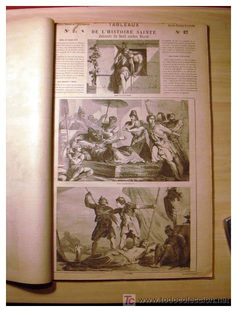 Libros antiguos: EL ANTIGUO Y NUEVO TESTAMENTO EN 100 CUADROS 1880 IMPRESIONANTES DIMENSIONES 52CM X 33CM - Foto 13 - 26947516