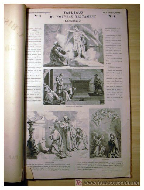 Libros antiguos: EL ANTIGUO Y NUEVO TESTAMENTO EN 100 CUADROS 1880 IMPRESIONANTES DIMENSIONES 52CM X 33CM - Foto 20 - 26947516