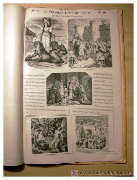 Libros antiguos: EL ANTIGUO Y NUEVO TESTAMENTO EN 100 CUADROS 1880 IMPRESIONANTES DIMENSIONES 52CM X 33CM - Foto 17 - 26947516