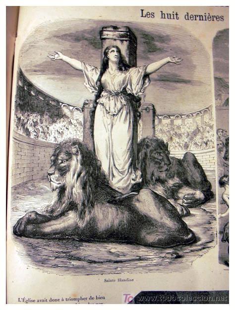 Libros antiguos: EL ANTIGUO Y NUEVO TESTAMENTO EN 100 CUADROS 1880 IMPRESIONANTES DIMENSIONES 52CM X 33CM - Foto 15 - 26947516
