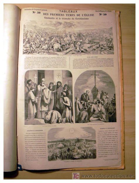 Libros antiguos: EL ANTIGUO Y NUEVO TESTAMENTO EN 100 CUADROS 1880 IMPRESIONANTES DIMENSIONES 52CM X 33CM - Foto 16 - 26947516
