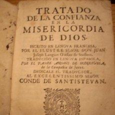Libros antiguos: CONFIANZA EN LA MISERICORDIA DE DIOS..- C.1.725. Lote 19082667