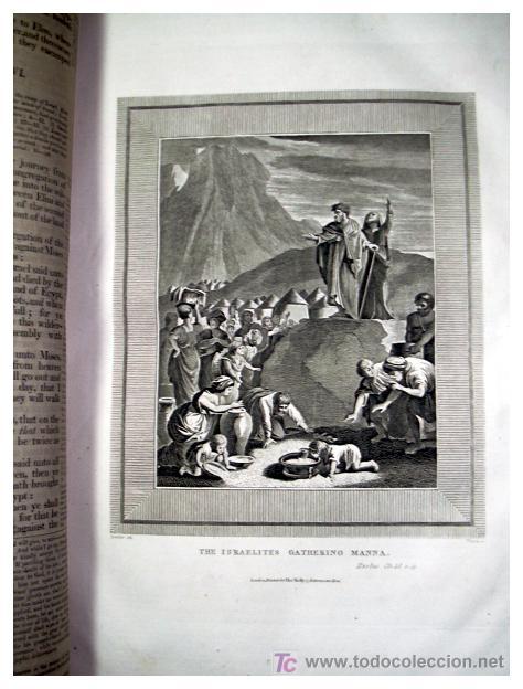 Libros antiguos: LIBRE INTERPRETACION DE LA BIBLIA DE JOHN BROWN 1812 - GRABADOS A TODA PAG - 43,5cm x 29cm x 10,5cm - Foto 14 - 26698240