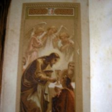 Libros antiguos: LIBRO DE HORAS ABREVIADO MISAL ROMANO 1891. Lote 20867327