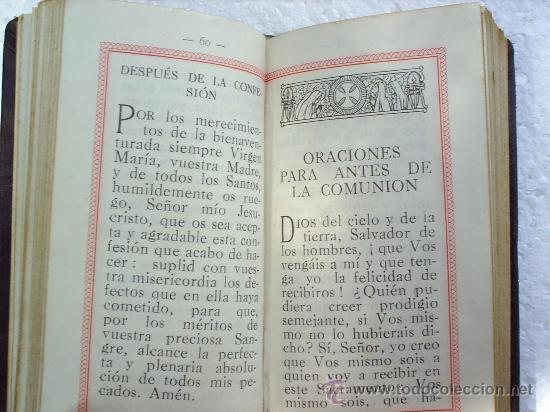 Libros antiguos: RAMILLETE DEL CRISTIANO 1932-PRACTICA MANUAL - Foto 4 - 22347274