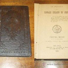 Libros antiguos: EL DEVOTO DEL SAGRADO CORAZON - EDICION 1895. Lote 14446398