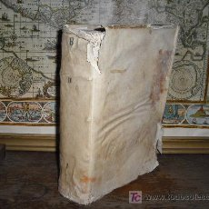 Libros antiguos: 1636. ARCHIELOGIA SACRA. DIDACO DE CEA. PERGAMINO. MUY VOLUMINOSO Y RARO.. Lote 27119468
