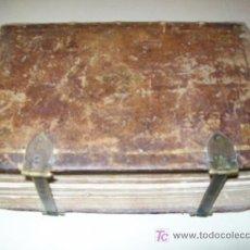 Libros antiguos: BREVIARIO BREVIARIUM ROMANO - AÑO 1773 - LIBRO - CONCILIO DE TRENTO - SIGLO XVIII - IBARRA. Lote 27333271