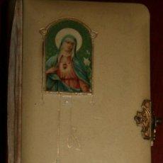 Libros antiguos: AZUCENA MÍSTICA - LIBRO DEDICADO A LAS DONCELLAS CRISTIANAS - 3º EDICIÓN DEL AÑO 1901. Lote 27545638