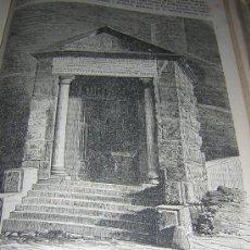Libros antiguos: TOMO ENCUADERNADO DE REVISTA POPULAR DE 1875(REVISTA CATOLICA PRECIOSA ) CON GRABADOS . Lote 27526677