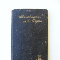 Libros antiguos: DEVOCIONARIO, SANTISIMA VIRGEN MARIA, FRANCISCO GARCIA, TIPOGRAFIA CATOLICA 1923. Lote 24638104