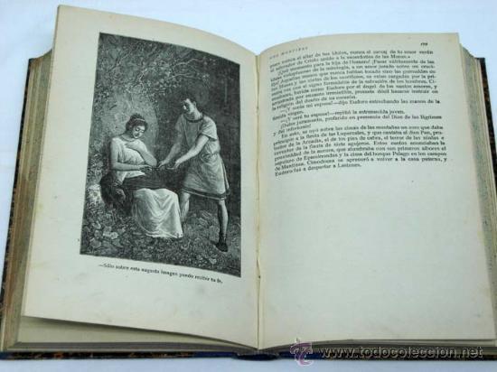 Libros antiguos: Los mártires ó triunfo de la religión cristiana Chateaubriand Ed Saturnino Calleja - Foto 3 - 222738243