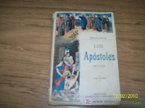 LOS APÓSTOLES, TOMO II- ERNESTO RENAN-BARCELONA.- CASA EDT: MAUCCI-1901 (Libros Antiguos, Raros y Curiosos - Religión)