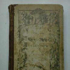 Libros antiguos: COMPENDIO DE LA HISTORIA BIBLICA O NARRACIONES DEL ANTIGUO TESTAMENTO. Lote 26431722