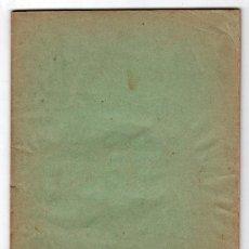 Libros antiguos: CUADERNO 1º LECCIONES AUTOGRAFIADAS DE RELIGION Y MORAL POR JOSE Mª FLOREZ. Lote 18199628