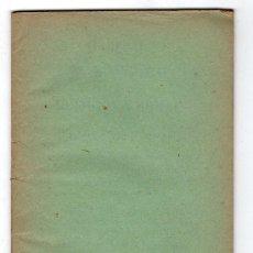 Libros antiguos: CUADERNO 1º LECCIONES AUTOGRAFIADAS DE RELIGION Y MORAL POR JOSE Mª FLOREZ. Lote 18199638