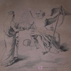 "Libros antiguos: ""MYTHOLOGIE PITTORESQUE UNIVERSELLE"" DE ODOLANT-DESNOS, 1842. CONTIENE 30 GRABADOS.. Lote 18596731"