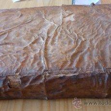 Libros antiguos: LIBRO DE PERGAMINO DE 1733. EXERCICIO DE PERFECCION Y VIRTUDES CHRISTIANAS. PADRE ALONSO.. Lote 23571626