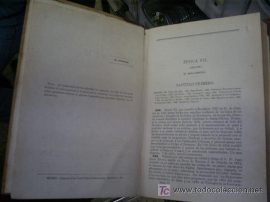 Libros antiguos: Compendio de historia eclesiástica general 3ª edición corregida y aumentada Tomo II 1865 PX25563-V - Foto 3 - 27615858