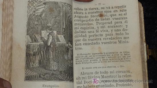 Libros antiguos: Devocionario del cristiano. Manual por Bernardo de la Cruz. 1872. Hermanos Llorens. - Foto 4 - 26272968