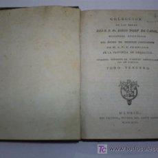 Libros antiguos: COLECCIÓN DE LAS OBRAS SERMONES FÚNEBRES DE VARONES SOBRESALIENTES EN VIRTUD TOMO III 1796 RM41726-V. Lote 26743644