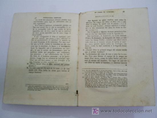 Libros antiguos: Instrucciones Generales en forma de Catecismo Tomo I FRANCISCO AMADO POUGET Año 1785 RM39509-V - Foto 4 - 26783954